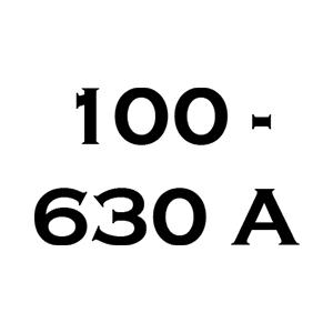 100 A-tól 630 A-ig