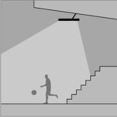 Sportlétesítmények, csarnok világítás (TV közvetítésre alkalmas világítás)