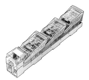 NH-2 késes szakaszolókapcsoló-biztosító - 400A / 660V