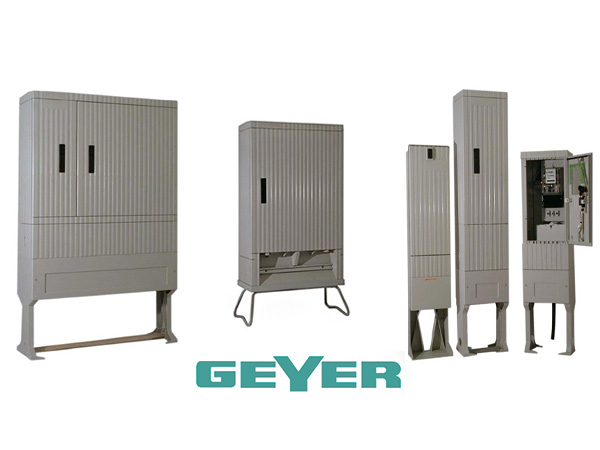 Outdoor typed electrical meter and cable cabinets